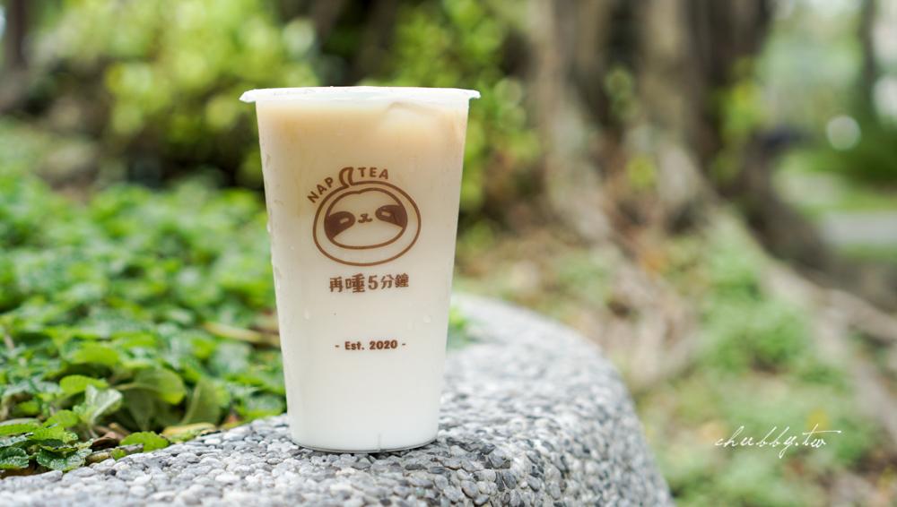 透明杯的飲料加上小懶熊LOGO融入杯身中,一字排開這畫面很療癒