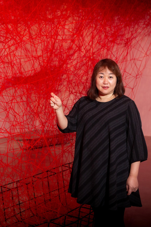 展覽推薦,塩田千春:顫動的靈魂
