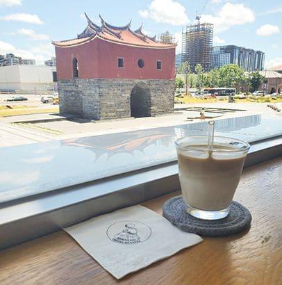 台北109青旅週邊的咖啡店-山小孩咖啡照片