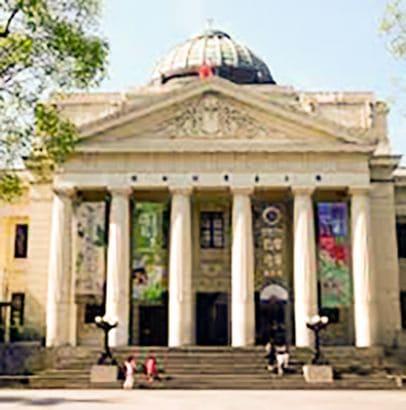 台北109青旅附近的古蹟博物館-國立台灣博物館的照片
