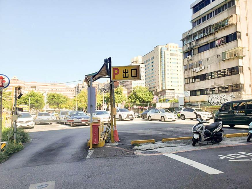 台北109青旅附近停車場